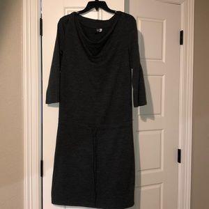 IBEX hooded dress